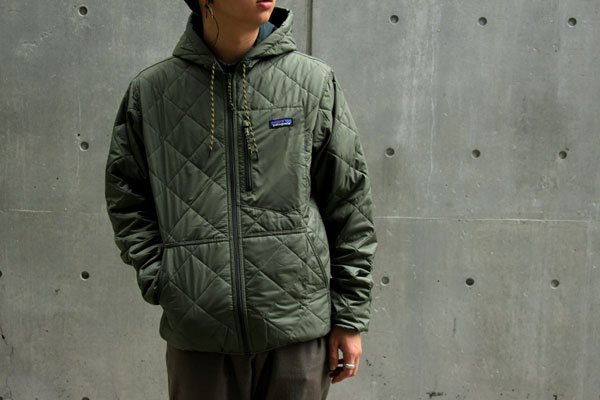 """c552220b9 STYLE SAMPLE [ Patagonia """"DIAMOND QUILTED BOMBER HOODY"""" ] -COOP ..."""