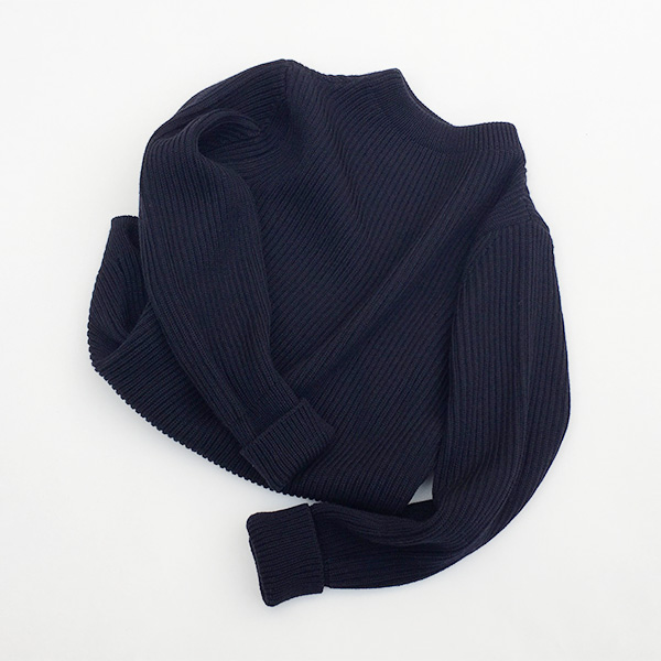 ANDERSEN-ANDERSEN The Navy Crew Neck Knit