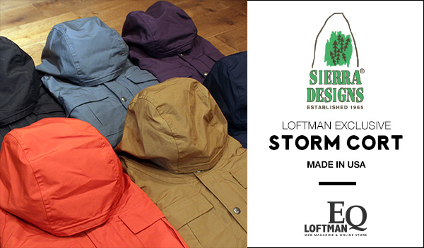 LOFTMAN EQ/SIERRA DESIGNS LOFTMAN別注 STORM COAT