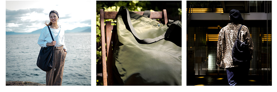 Engineered Garments 別注Carry All Tote with Snap Button vol.02