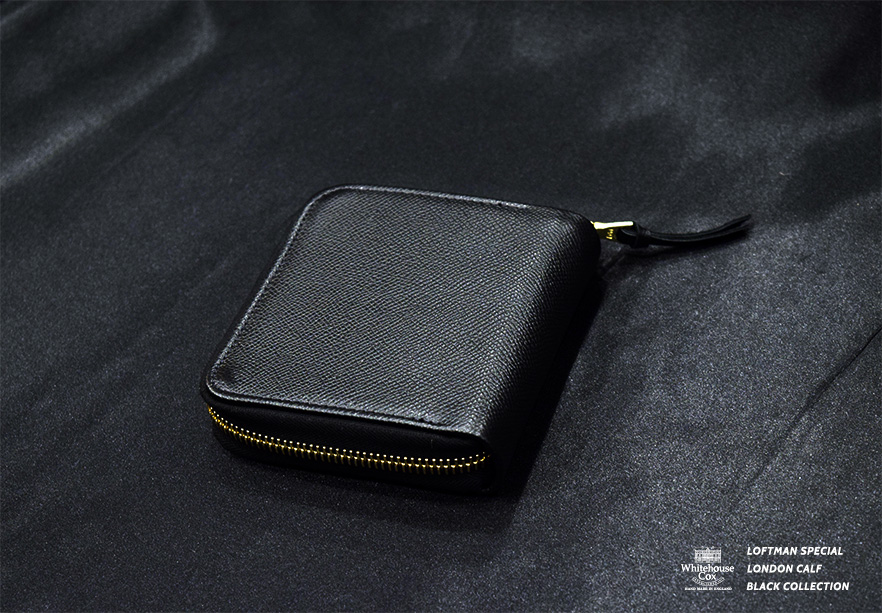 LOFTMAN別注 S1980 Zip Wallet-Black