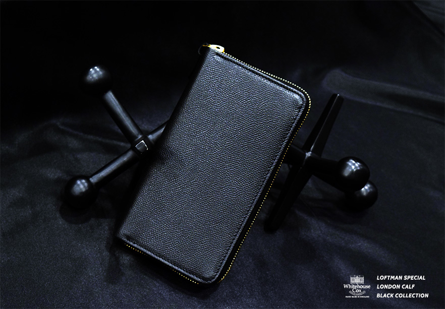 LOFTMAN別注 S1981 Long Zip Wallet-Black
