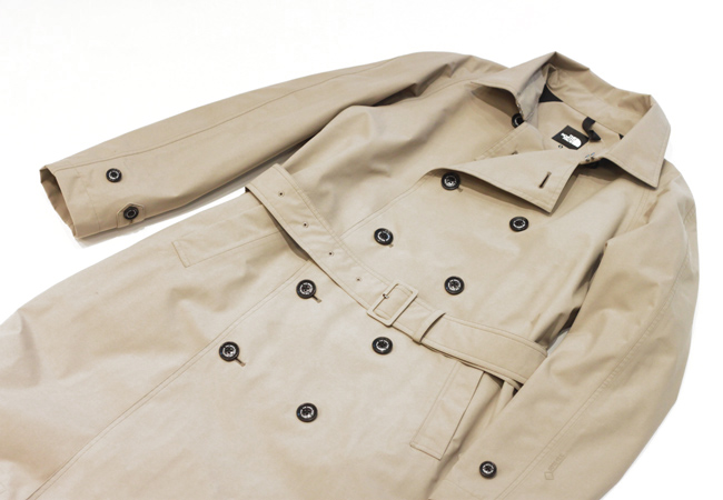 The Norce Face Bold Trench Coat At Coop Ohana E Ma