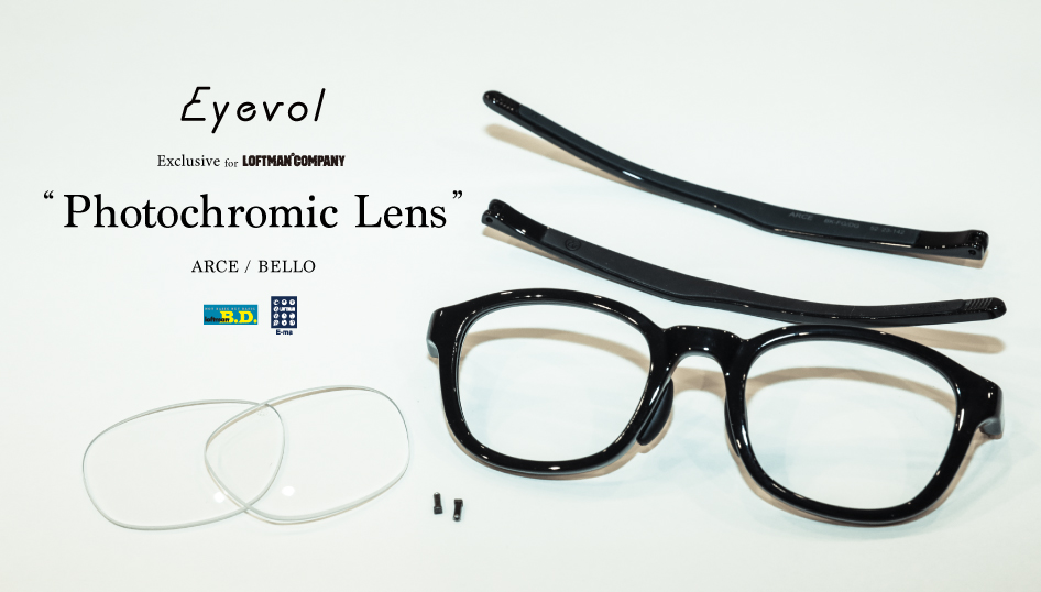 "Eyevol Exclusive for LOFTMAN ""Photochromic Lens"""
