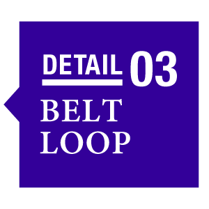 Detail 03 Belt Loop