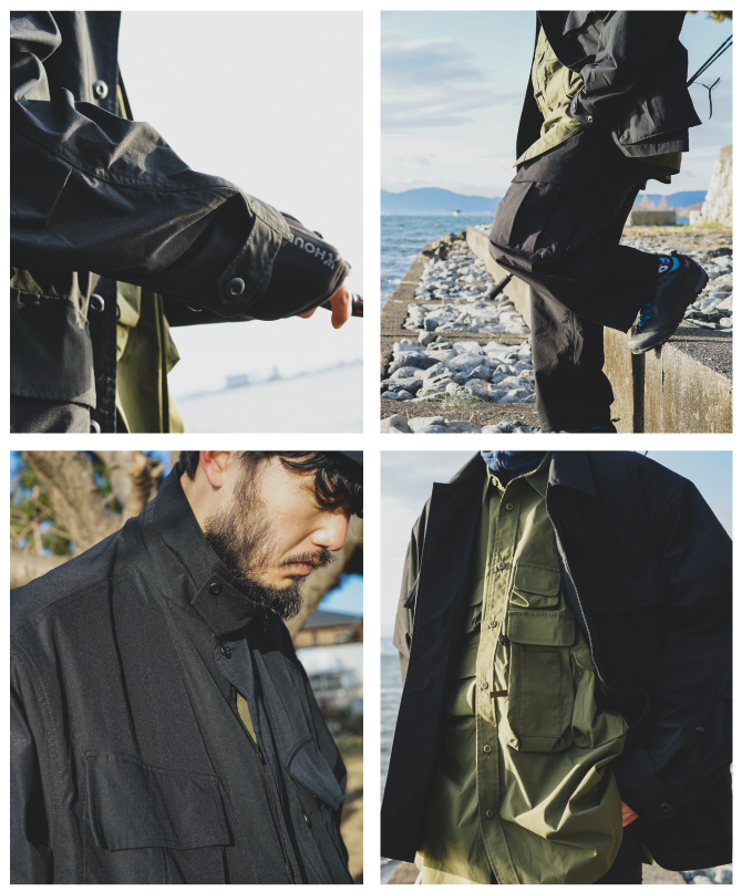 DAIWA PIER39 2021 Spring Collection Style1-5